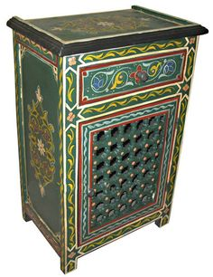 Moroccan #painted #furniture
