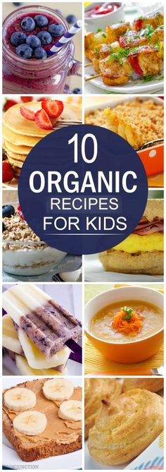 Does your child always ask for junk or instant foods? Want to know some healthy organic food ideas? Read this post on 10 healthy organic recipes for kids!