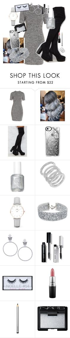 """""""Senza titolo #49"""" by serenalaterra-1 ❤ liked on Polyvore featuring French Connection, Casetify, Essie, Cole Haan, CLUSE, DANNIJO, Bobbi Brown Cosmetics, Huda Beauty, MAC Cosmetics and Laura Mercier"""