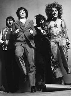 John, Keith, Pete and Roger
