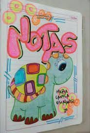 Resultado de imagen para marcar cuadernos timoteo Notebook Binder, Notebook Art, Page Decoration, Cute Notes, Tumblr Stickers, Diy Cards, School Supplies, Stencils, Diy And Crafts