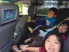 OnFair Car Headrest DVD Customer Review Testimonial - 2012 Honda Odyssey   #headrestdvdplayer #family