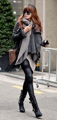 25 Winter Outfits to Copy Right Now - #fashion #street #style #leather