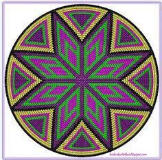 Elements of The Perfect - Dieses Muster habe ich mir mit dem Programm easybeadpatterns entworfen. Da ich j. Crochet Chart, Knit Crochet, Native Beading Patterns, Mochila Crochet, Tapestry Crochet Patterns, Tapestry Bag, Crochet Purses, Loom Beading, Bead Art