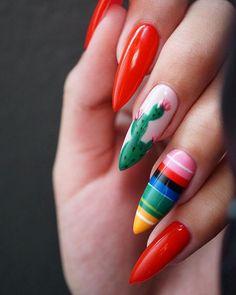 Uñas mexicanas - Como decorar el manicure este 15 de Septiembre