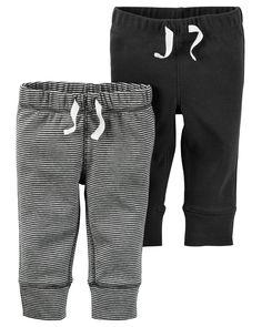 Baby Boy 2-Pack Babysoft Pants   Carters.com