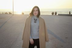 Rita Giacco: Outfit | Turtleneck at the beach