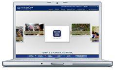 Villanova University Main Window (Desktop Browser)