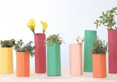 Des vases en papier DIY
