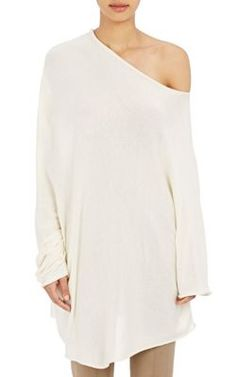The Row Nandac Off-The-Shoulder Sweater at Barneys New York