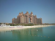 The Atlantis on Palm Island lots of Restaurants including Nobu