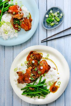 Put down the takeout menu! This meal is a spin on our favorite takeout. It's fresh and quick, but nuanced and flavorful, with a brown sugar syrup infused with fresh ginger, tamari, and rice vinegar that glazes the chicken. Better yet, with Martha & Marley Spoon and AmazonFresh, you can easily order online and start cooking!
