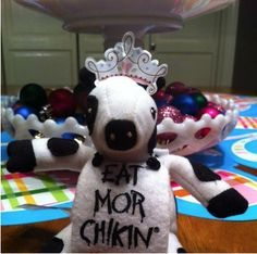 Free event at Chick-fil-A tonight -- get a free princess cow!