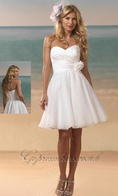 If I get married on an island this will be the dress I will wear....js