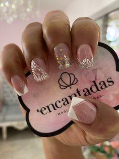 Elegant Nail Art, Magic Nails, Cute Acrylic Nails, Toe Nail Designs, Super Nails, Nail Decorations, Nail Spa, French Nails, Makeup Organization