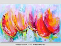 Reserviert für Colleen Malerei von lanasfineart auf Etsy