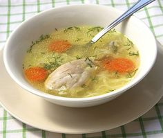 Sopa de Pollo   Receta Ecuatoriana
