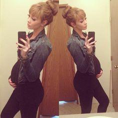 Dee_dennis @ instagram Cute pregnancy outfit