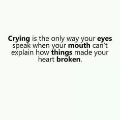 crying tumblr quotes - Google Search