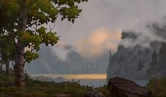 Animation Backgrounds: BROTHER BEAR part two