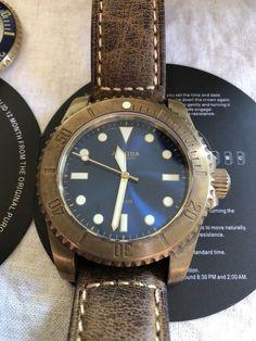 Armida A8 Brass Watch