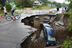 Sinkhole in Duluth
