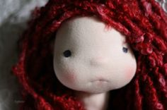 Poppy, the girl with the pursed lips. By Fig and Me.