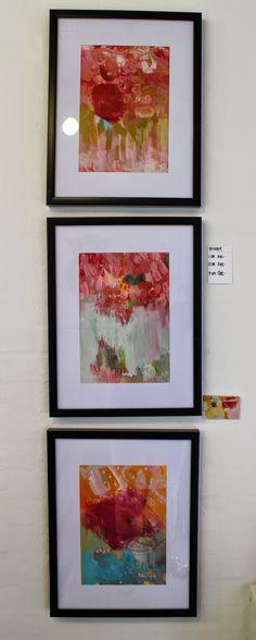 Galleri modern: I rosens navn - serie - solgt art by gitte cittrup
