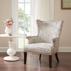 saybridge fabric accent wing chair custom colors furniture