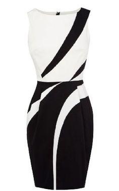 Karen Millen Graphic Applique Shift Dress