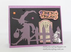 Close to My Heart Trick or Treat using Scaredy Cat collection