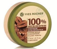 Yves Rocher 100% shea butter concentrate intense repair body balm @YvesRocherCanada and #MakeUpDaysYR