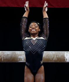 Simone Biles somersaults her way into history. The decorated gynamst completed a vault that never been done by a woman in her sport, and there's video. Gymnastics Competition Leotards, Gymnastics Quotes, Gymnastics Posters, Gymnastics Outfits, Artistic Gymnastics, Olympic Gymnastics, Gymnastics Girls, Cheerleading Quotes, Cheer Quotes