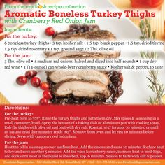 Have you started planning your #Thanksgiving menu yet? Pick up a copy of the attached recipe card with every boneless turkey thighs purchase, one of this week's specials! #kosher #cooking #recipe #greatneck