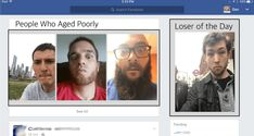 """Facebook Adds """"People Who Did Not Age Well"""" Option To Sidebar - http://runt-of-the-web.com/people-who-did-not-age-well-facebook?utm_source=Pinterest&utm_medium=social&utm_campaign=twitter_snap"""