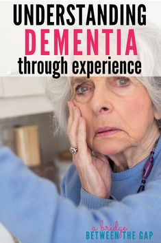 Having a better understanding of what someone with Dementia may be experiencing will make you a more patient caregiver. Knowing the confusion, the anger, the frustration they must be going through might make you rethink your reactions. Dementia Facts, Dementia Symptoms, Alzheimers Awareness, Dementia Care, Alzheimer's And Dementia, Dementia Activities, Alzheimers Quotes, Senior Activities, Dementia Training