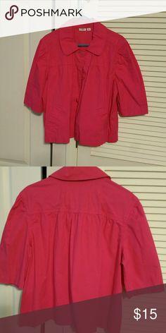 Jacket Fuchsia 3/4 Length  sleeve jacket Cato Jackets & Coats Blazers