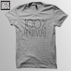 T-shirt Herbivore tee // funny vegan shirt / vegan gift / funny vegan t-shirt / vegan top / vegetarian t-shirt / veggie t-shirtTee (disambiguation) Tee may refer to: T Shirt Vegan, American Apparel, Plant Based Vegan Diet, Vegan Humor, Vegan Funny, Vegan Clothing, Vegan Fashion, Funny Tees, Tee Shirts