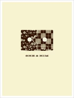 She & Him by Jason Munn   The Small Stakes