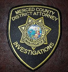 Merced-County-District-Attorney-Patch-California