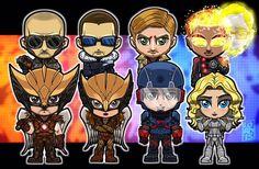 Heroes, villains, LEGENDS! By #lordmesaart #LegendsofTomorrow