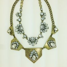 Layering 101  #jewelry #statementnecklace #necklace