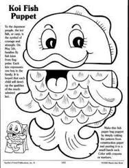 fish paper bag puppets templates - Google Search