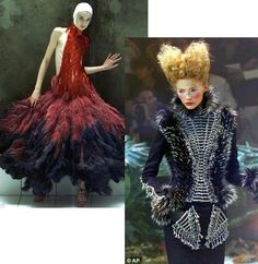 alexander mcqueen avant garde fashion | Adieu, Alexander...you will be greatly missed. -Lynne
