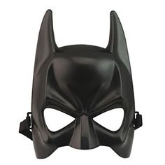 Halloween Batman Mask Adult Black Cosplay masque Mask Upper Half Face Mask For Man Cool Face Costume Kit Costume Accessory