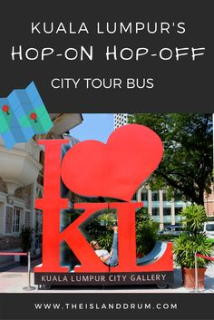 The fastest way to get an orientation to Kuala Lumpur, Malaysia is with a Hop-On Hop-Off bus tour! http://www.theislanddrum.com/kuala-lumpur-hop-on-hop-off-city-tour/