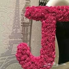 J Alphabet, Flower Alphabet, Flower Letters, Cute Letters, Letters And Numbers, Colorful Flowers, Beautiful Flowers, Love Wallpaper For Mobile, Punjabi Wedding Couple