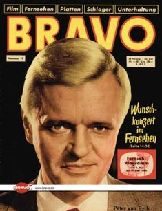 A cover gallery for Bravo Peter Van Eyck, Cover, Movie Posters, Movie, Magazine Covers, Television Set, Film Poster, Billboard, Film Posters