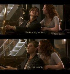 Jack and Rose - The Titanic Titanic Movie Facts, Titanic Quotes, Kate Winslet, Series Quotes, Leonardo Dicapro, Leo And Kate, Citations Film, Jack Dawson, Young Leonardo Dicaprio