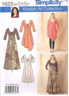 Simplicity 1623 Sewing Pattern Womens Dress by OhSewWorthIt, $2.75